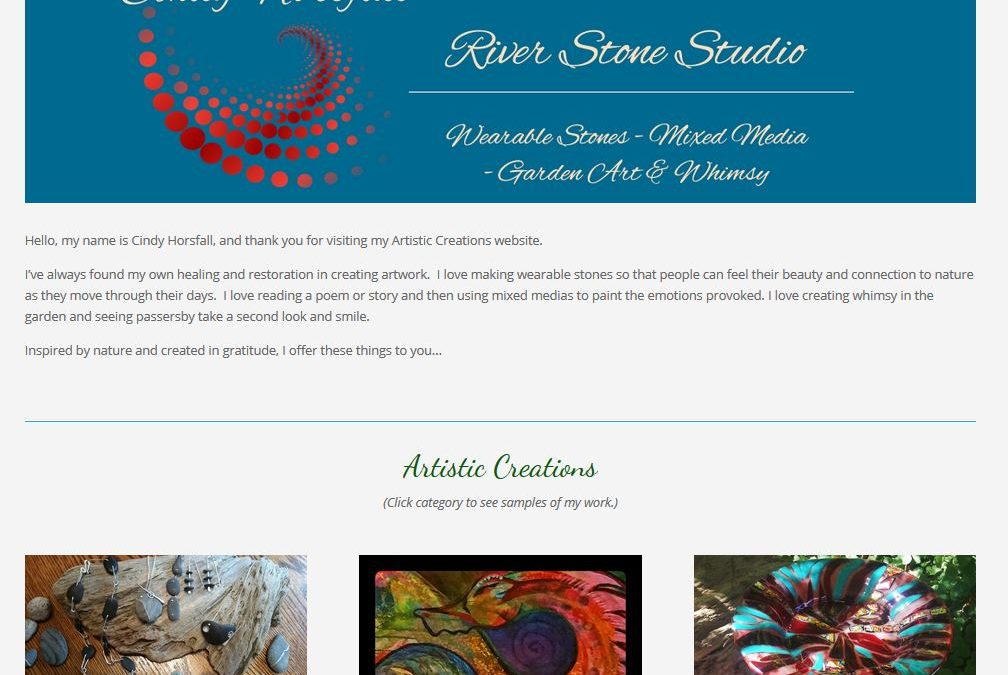 Cindy Horsfall, River Stone Studio