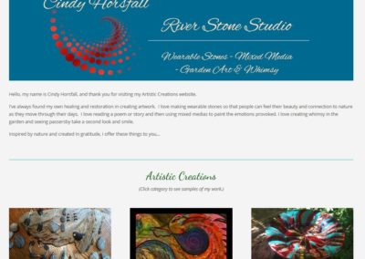 Cindy Horsfall, River Stone Studio