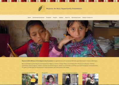 Mujeres de Maiz Opportunity Foundation