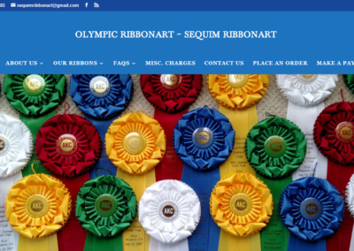 Sequim/Olympic Ribbon Art