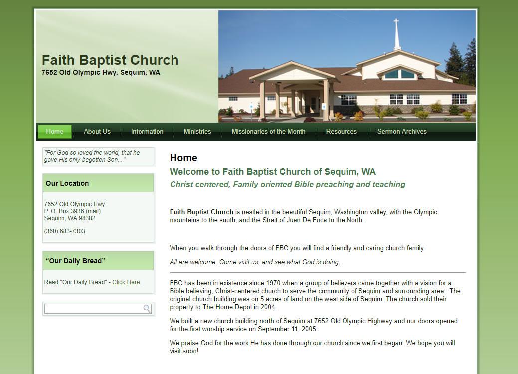 Before-Faith Baptist Sequim